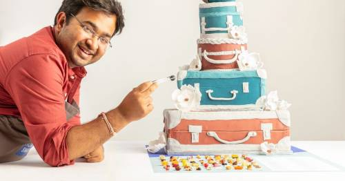 Bake Off's Rahul Mandal now - disastrous TV appearance and record-breaking creation