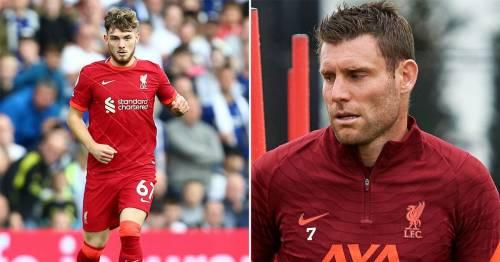 "James Milner hails Harvey Elliott's ""fantastic"" recovery progress from Liverpool injury"