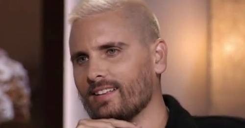 Kourtney Kardashian's ex Scott Disick still on family Whatsapp - but Travis Barker isn't